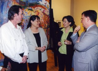 Exsul, Esther, Rima, & Dr. Manning
